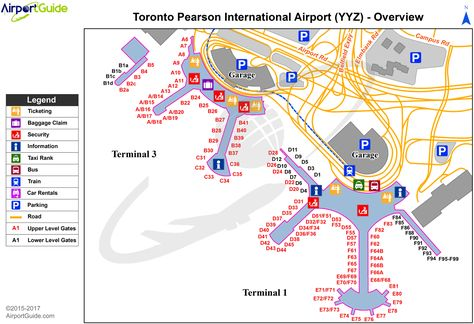 Miami Miami International MIA Airport Terminal Map Overview
