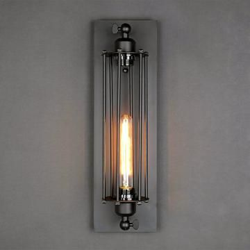Wire Cage Sconce Industrial Wall Sconce Indoor Wall Sconces Wall Sconces