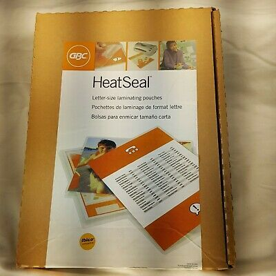 Sponsored Ebay Gbc Heatseal Crystal Clear Letter Size Pouches 10mil 50 Pack Premium Mib N R Lettering Book Cover Letter Size
