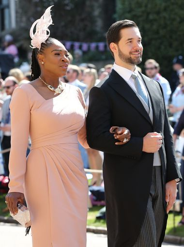 Tennis Great Serena Williams And Her Husband Reddit Wedding Dress Outfit Royal Wedding Outfits Harry And Meghan Wedding