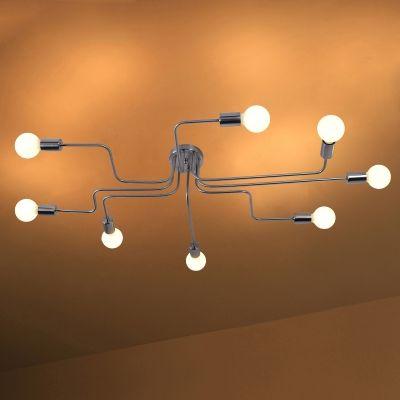 Light Semi Flush Ceiling