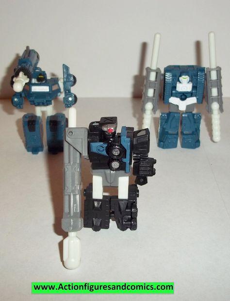 Transformers Armada Night Attack Complete Mini-Con Team