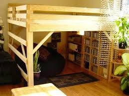 Elevated Bed Ideas Google Search Diy Loft Bed Loft Bed Plans