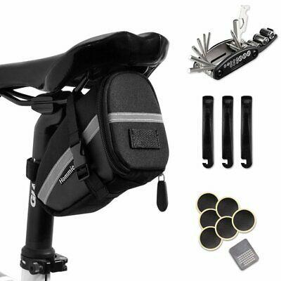 Sponsored Ebay Bike Repair Tool Kits 16 In 1 Bicycle Saddle Bag
