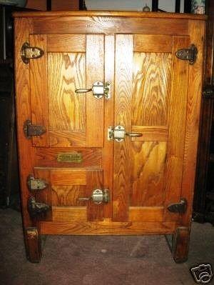 Leonard S Polar King Icebox Rococo Furniture Repurposed Furniture Antique Ice Box