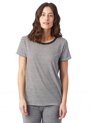 ECO-JERSEY TRI-BLEND T-SHIRT S-XL LADIES LIGHTWEIGHT CLASSIC FIT EVERYDAY WEAR