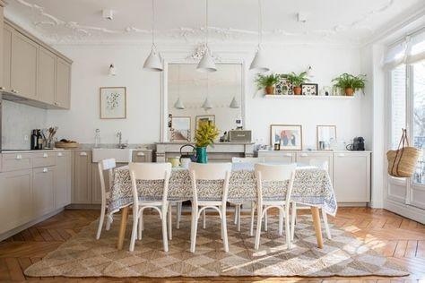 Une Cuisine Salle A Manger Comme A La Campagne Avec Images