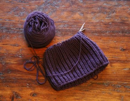 How To Knit Fishermans Rib In The Round Rounding Knit Crochet