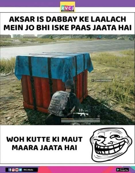 Pin by MeMes lovers on PUbg Jokes | Funny gaming memes