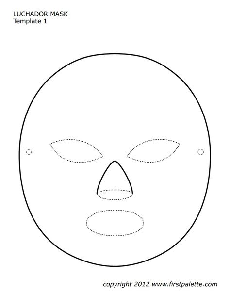 list of pinterest luchador mask template pictures pinterest