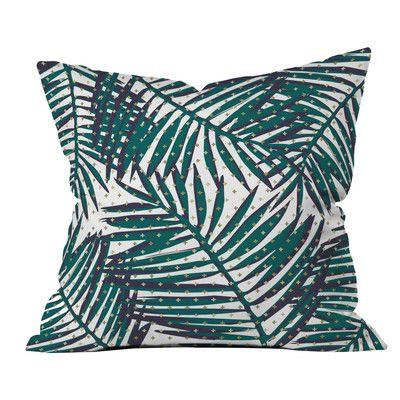Deny Designs Zoe Wodarz The Palm Hotel Polyester Throw Pillow Throw Pillows Pillows Modern Throw Pillows