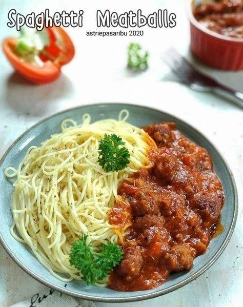 Spaghetti Meatballs Resep Masakan Masakan Masakan Simpel