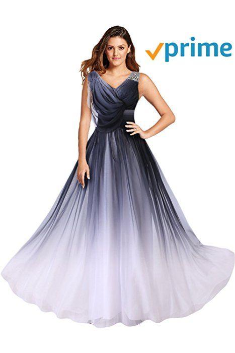 Gorgeous Bride Abendkleider Elegant Lang 8 Damen Chiffon A