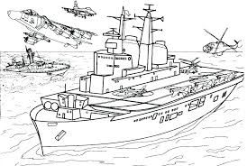 Army Jets Coloring Pages