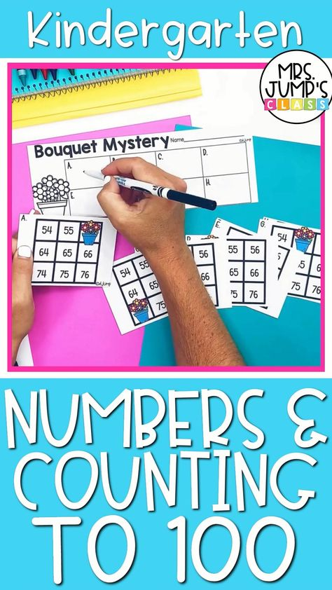Kindergarten Numbers and Counting to 100