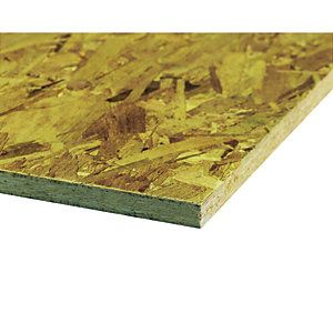 Wickes General Purpose Osb 3 Board 18mm X 606mm X 1220mm In 2020 Structural Color Synthetic Resin General Construction