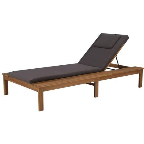 Transat Bain De Soleil Chaise Longue Sun Lounger Pool