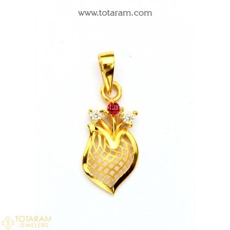 22k Gold Pendants Indian Gold Jewellery Design Gold Jewelry Fashion Gold Pendant