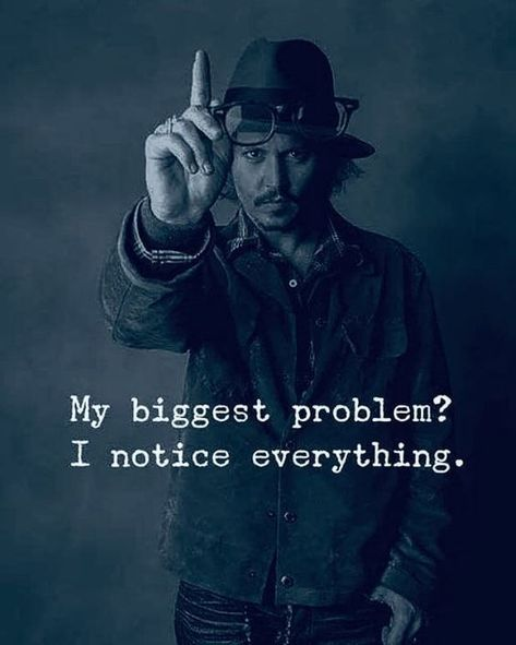 My Biggest Problem? I Notice Everything. Ignore Somethings In Life To Be Happy.  #IgnoreQuotes #LifeIsSimpleQuotes #SimplicityQuotes #Quotes #Quoteish