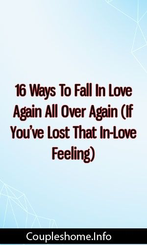 Falling in love at 16