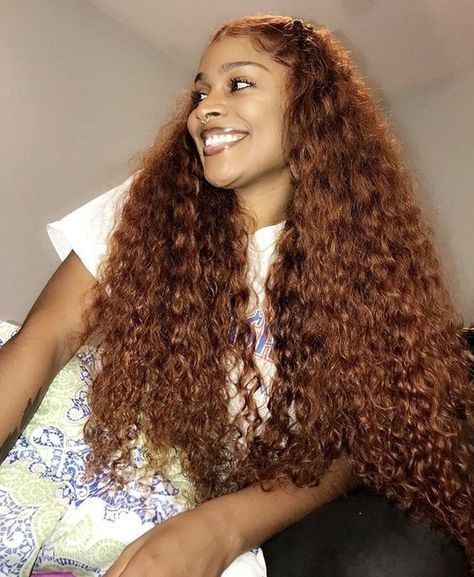 Charming blond water wave curly human hair