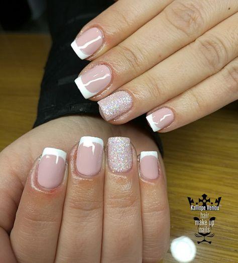 nails French nails #nails #nailart...
