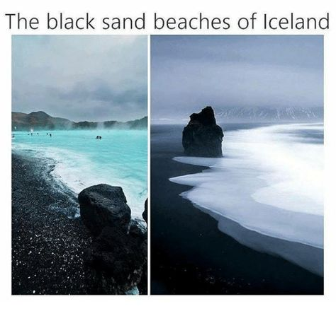 Memes, Beach, and Iceland: The black sand beaches of Iceland