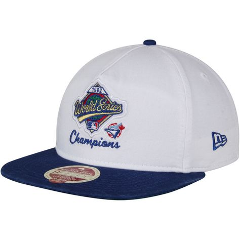 873b479450e Toronto Blue Jays New Era American League East World Series Champions  A-Frame Snapback Adjustable Hat - White Royal