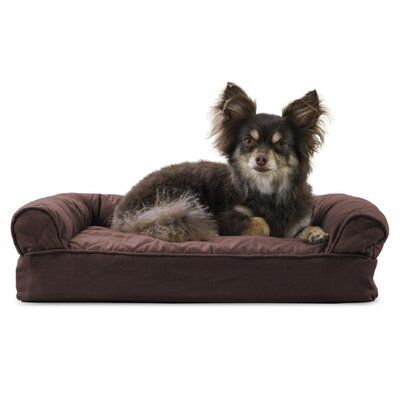 Tucker Murphy Pet Nell Quilted Cooling Gel Dog Sofa Size Small