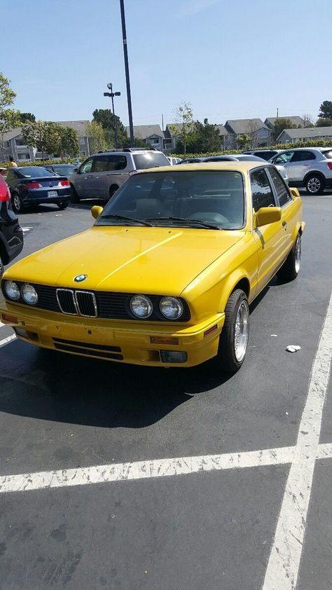 Awesome Amazing 1991 Bmw 3 Series 325i Coupe 1991 Bmw 325i