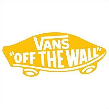 Vans stickers, Yellow vans, Vans
