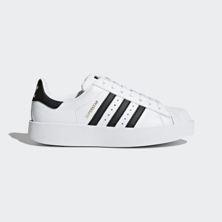 Superstar Bold Platform Shoes White Womens | Adidas