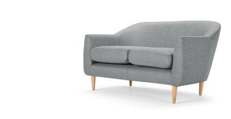 Tubby 2 Sitzer Sofa Kolagrau 2 Sitzer Sofa Sofa Und Sofas
