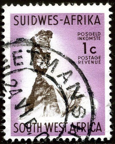 Stamp Finger Rock South West Africa Country Motives Mi Na Sw 339 West Africa Southern Africa Africa