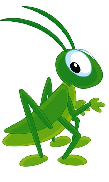 valentine's day grasshopper  vorlagen  grashüpfer