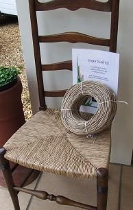 Chairs with twine bottom