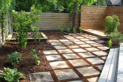 The Best Choices You Can Make For A Practically Hassle Free Yard Small Backyard Landscaping Pavers Backyard Modern Landscaping