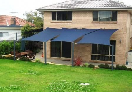 This Timber Awning Is Unquestionably A Notable Style Philosophy Timberawning Shade Sail Shade Sail Installation Sun Sail Shade