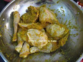 Just Try Taste Ayam Ungkep Bumbu Kuning Masakan Simpel Resep Makanan Resep Ayam