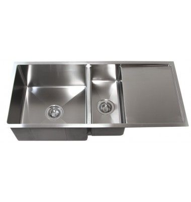 42 Inch Stainless Steel 15mm Radius Design Undermount Double Bowl Kitchen Sink With 13 Inch D Double Stainless Steel Kitchen Sink Sink Double Bowl Kitchen Sink