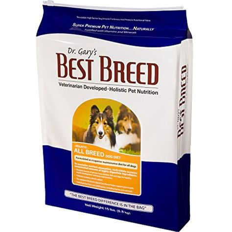 Dr Gary S Best Breed Holistic All Breed Dry Dog Food 4 Lb You