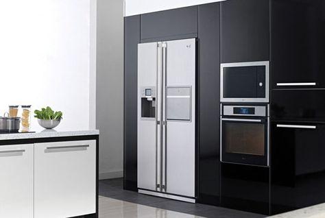 cucine con frigorifero americano | Arredamento