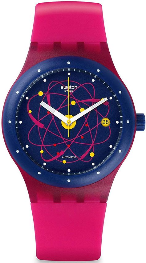 online shopping for Swatch Sistem Pink Blue White Date Dial Silicone Band Unisex Watch NEW from top store. See new offer for Swatch Sistem Pink Blue White Date Dial Silicone Band Unisex Watch NEW
