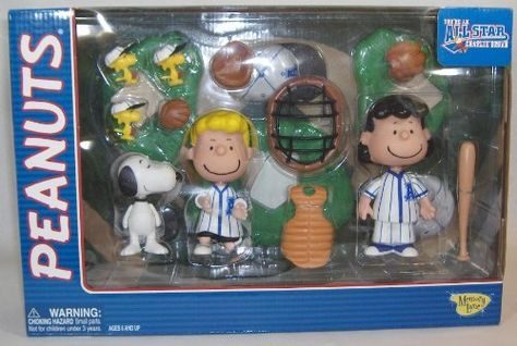 All Star Peanuts Baseball Dogout Deluxe Playset mit Marcie /& Peppermint Petty