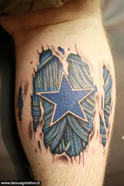 Staggering Dallas Cowboys Tattoos for REAL Fans!  Staggering Dallas Cowboys Tattoos for REAL Fans! As we all know, Americans take their football seriously. The game originated as a variant of soccer, and as it gradually gained rugby-like rules, the name football stuck as a tradition. It began as primarily a college sport, but as people graduated and the sport became popular, it …