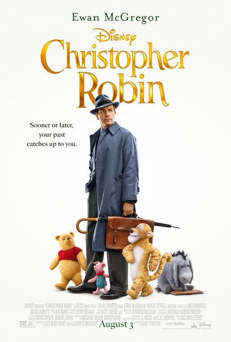 "Christopher Robin Movie Poster Winnie The Pooh Japanese Film Print 24x36/"" 27x40/"""