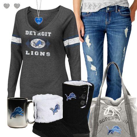 Detroit Lions Fashion - Cozy Lions Sunday