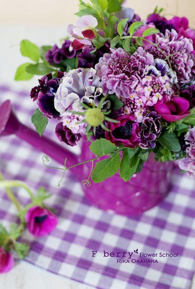 『春のOne Day Lesson』のご報告  東京 八王子のフラワーアレンジメント教室 『 F berry Flower School 』のブログ