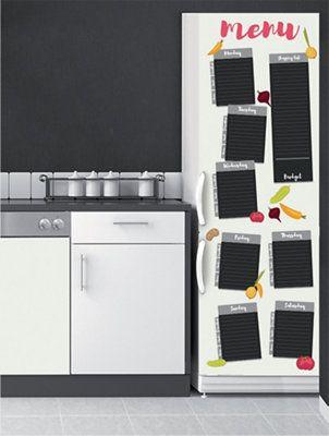 Stickers Para Nevera Menú Leroy Merlin Vinilo Adhesivo Vinilos Nevera Cocinas De Casa