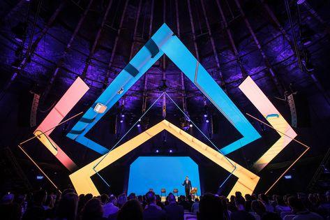 Stage Design & Video Content - B2B Event, Gashouder.
